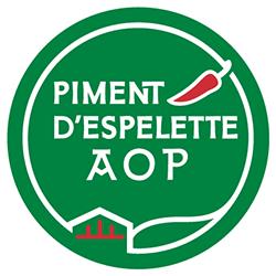 Logo du Piment d'Espelette AOP