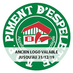 Ancien logo du Piment d'Espelette AOP